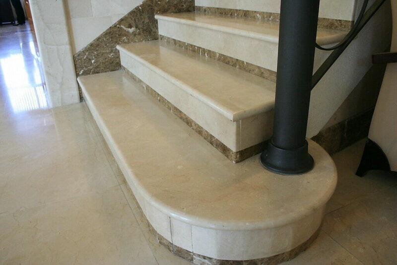 Exklusive Treppenstufen aus Marmor