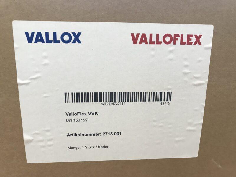 8x ValloFlex VVK Uni 16075/7 Luftverteiler