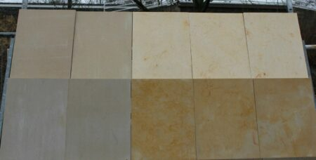 Sandsteinplatten, Mauersteine 16m²