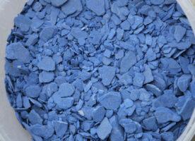 Zierkies- Schiefersplitt blau