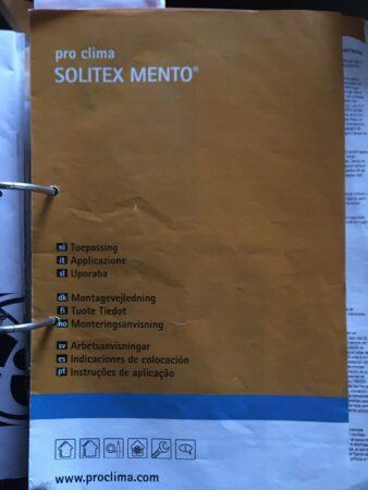 Pro clima Wandschalungsbahn/Unterspannbahn Solitex Mento 3000