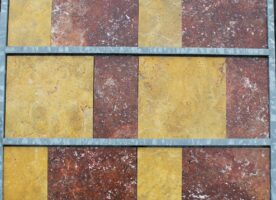 Travertin-Natursteinfliesen, Terrassenplatten