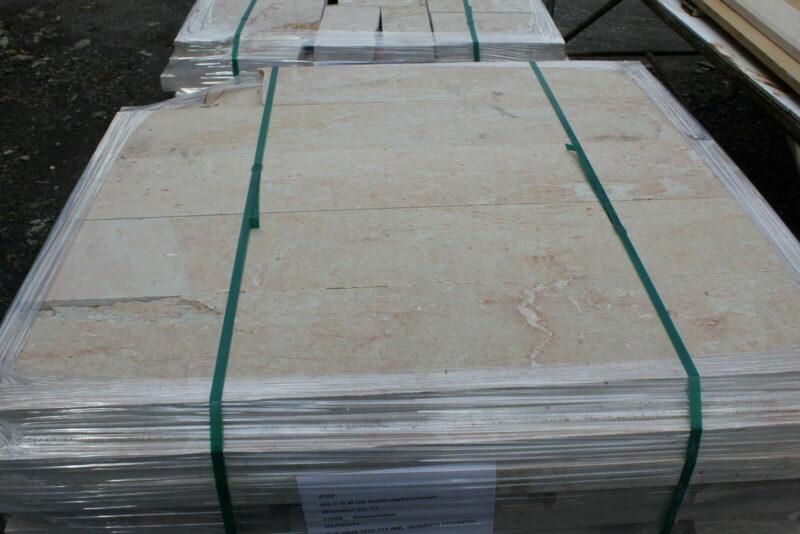 Kalkstein, Natursteinplatten 12m²
