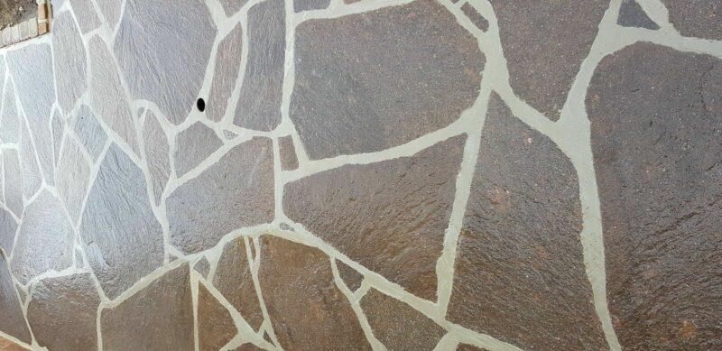 Porphyr- Formatplatten, Natursteinplatten, 2-5cm