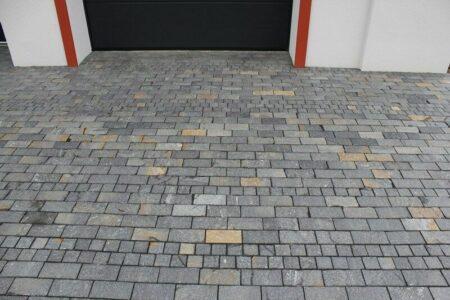 Naturstein-Pflastersteine, Gehwegplatten, Rassenborde