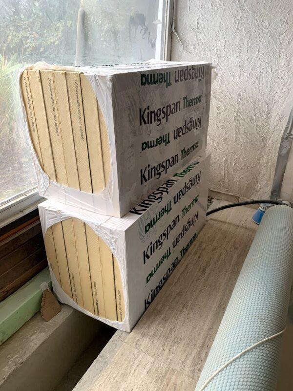 Kingspan Thermo TF70 PUR Dämmplatten original verpackt 70mm stark