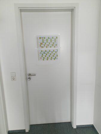 Türen mit PZ-Schloßkasten (Röhrenspan)