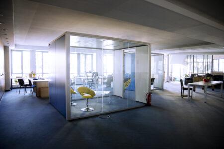 Lindner Office Cubes, Konferenzraum, Meetingraum – guter Zustand