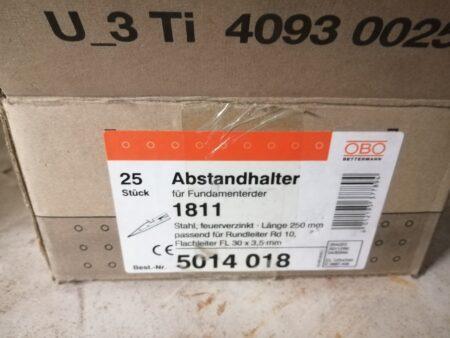 OBO Bettermann Abstandhalter für Fundamenterder