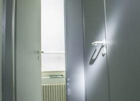 Trennwände,WC-Trennwand, 1,37m