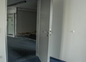 Tür mit Stahlzarge