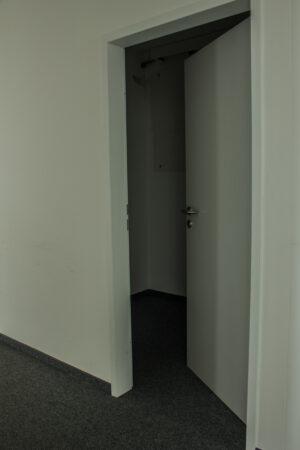 Holztür mit Zarge (ohne Schloss)