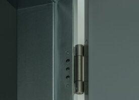 Tür-Glas Kombination