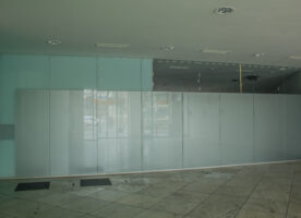 Glaswandmodule, Trennwand, Glastrennwand