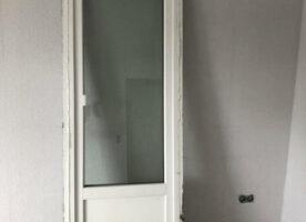 Balkontür dreifach verglast