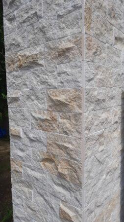 DORA Fassadenverkleidung Verblender Riemchen Klinker Sandstein