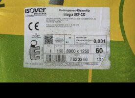 Untersparren-Klemmfilz ISOVER Integra UKF-032 60 mm