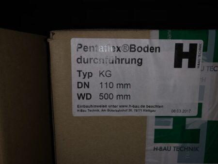 Pentaflex Bodendurchführung DN 100