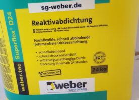 Weber.tec Superflex Reaktivabdichtung  D24