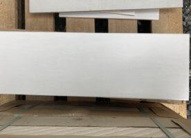 Wandfliesen Unique weiß seidenmatt 20x60 Agrob Buchtal