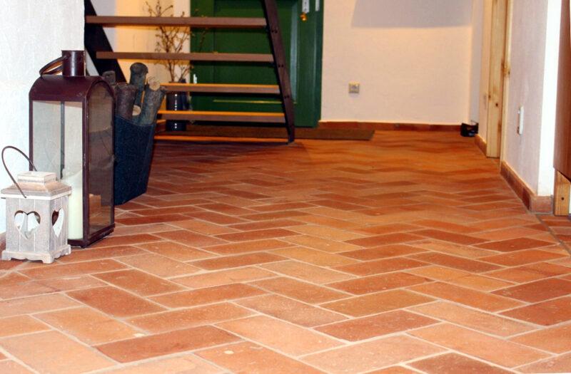 50 m² Boden Platten Ziegel fliesen Backstein Mauerstein Landhaus rustikal