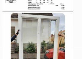 Sorpetaler Holzfenster, Altbauprogramm, zweiflügelig, weiß