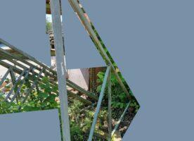 Hängegerüst für ein Haus, (6 Ecken)