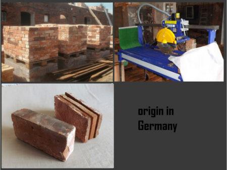 9 m² mediterrane Boden Platten Ziegel Fliesen Backstein Mauerstein Landhaus rustikal