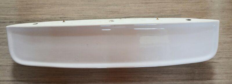 Waschbeckenablage weiß