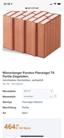 Wienerberger Poroton t8