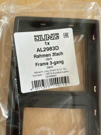 Rahmen 3fach Jung AL2983D