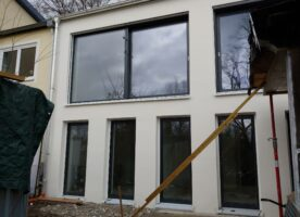 2 neue moderne Holz/Alu Schiebetüren Fa Josko
