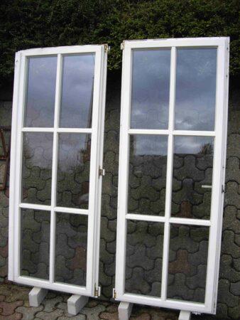 Holzfenster Sprossenfenster mit Dreh-/Kippfunktion 4-flg