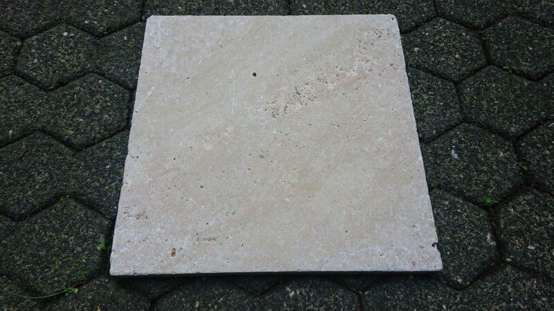 Travertin Naturstein Terrassenplatten