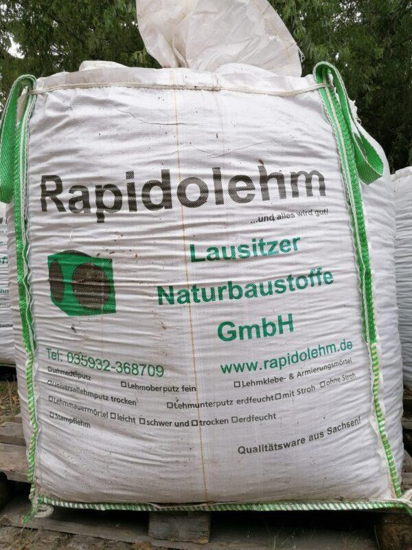 Lehmschüttung Rapido trocken 7 Big Bags (ca. 7 to)