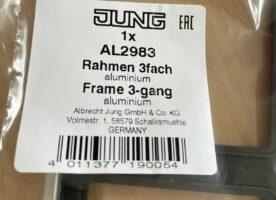 Rahmen 3fach Jung AL2983