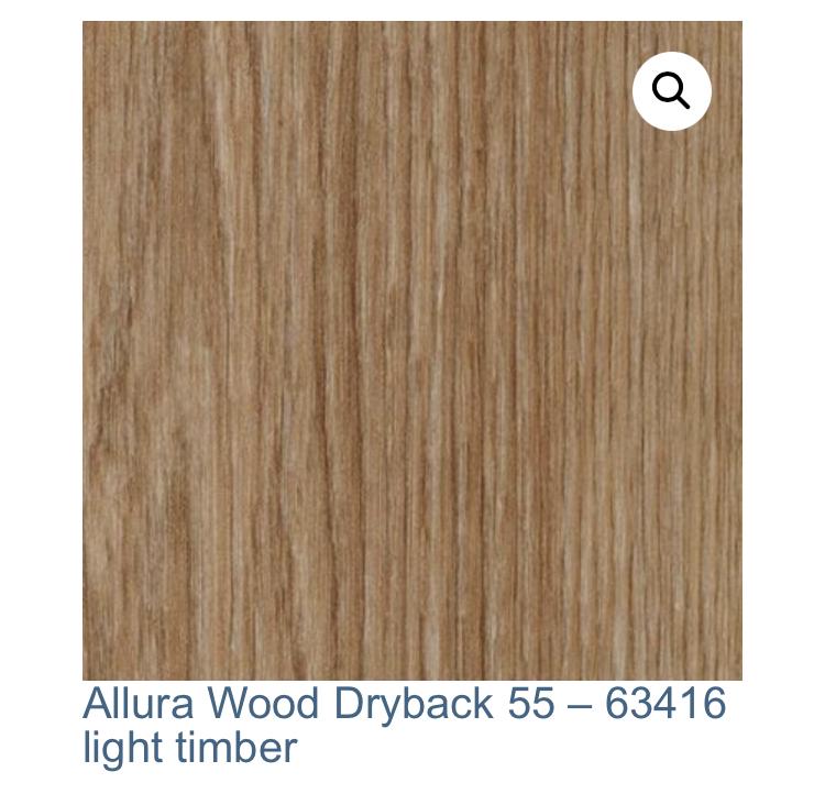 Vinyl Forbo Allura Dryback 0,55 – Light Timber