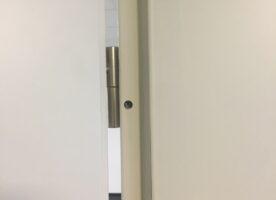 Zimmertür mit Stahlzarge DIN L