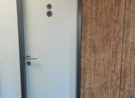 Zimmertür mit Stahlzarge