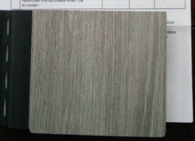 Fassadenverkleidung von vinylit, 30 qm