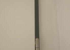 Badtür mit Stahlzarge