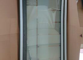 Neue Haustür plus Seitenteil VSG Wärmeschutz Sicherheitsglas