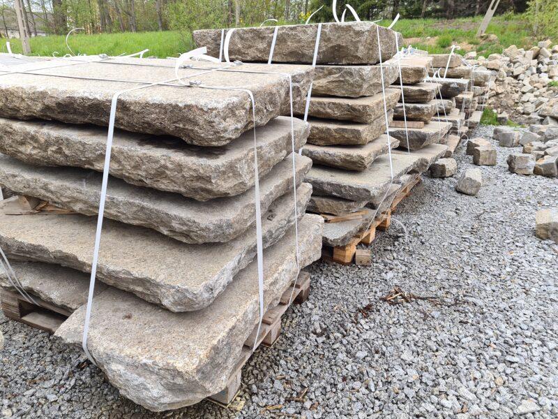 Granitplatten (Schweinebäuche)