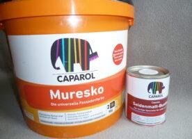 Muresko Fassadenfarbe abgetönt