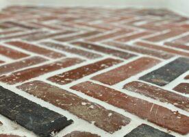 Fischgrät Boden Platten Fliesen Antik Landhaus Küche Loft Kamin romantisch sofort lieferbar