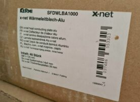 Kermi x-net C13 Wärmeleitblech für Fußbodenheizung SFDWLBA1000