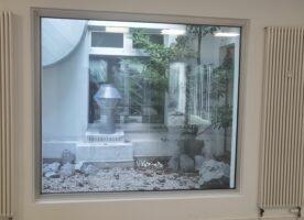 Alu-Fenster  festverglast