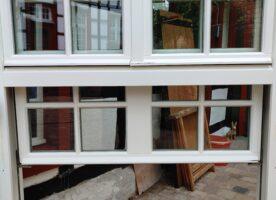 Holz-Schiebefenster