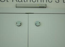Schallschutztür doppelflügelig (Marke: Dorma)
