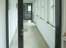 Promat Schallschutztür mit Seitenteil DIN R, 151cm